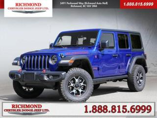 New 2020 Jeep Wrangler Unlimited Rubicon for sale in Richmond, BC