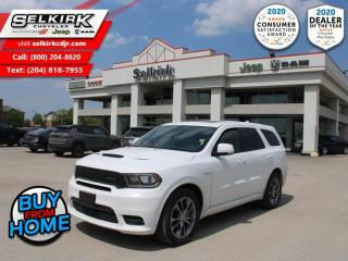 Used 2020 Dodge Durango R/T - Leather Seats -  Cooled Seats - $290 B/W for sale in Selkirk, MB