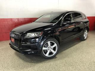 Used 2011 Audi Q7 3.0L TDI S-LINE NAVI 7 SEATER PANO-ROOF CAMERA LOCAL ONTARIO for sale in North York, ON