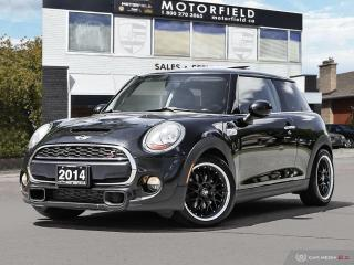 Used 2014 MINI Cooper Hardtop S *Accident Free, Leather, Sunroof* for sale in Scarborough, ON