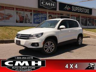 Used 2015 Volkswagen Tiguan Trendline  AWD 2.0L I4 TURBO HS BT for sale in St. Catharines, ON