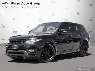 Used 2017 Land Rover Range Rover Sport Autobiography-510HP-Meridian Sound-Pano Roof-Heads for sale in Bolton, ON