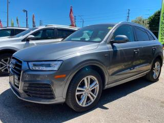 Used 2016 Audi Q3 2.0T Technik | LEATHER | ROOF | AWD | LOADED for sale in Scarborough, ON