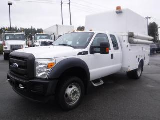 Used 2011 Ford F-450 Xl Sd Super Cab Dually 4WD Service Truck Diesel for sale in Burnaby, BC
