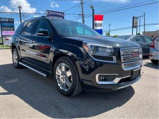 Used 2013 GMC Acadia Denali | DVD, 7 Passenger, Leather, Nav, Pano Roof for sale in Caledonia, ON