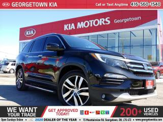Used 2016 Honda Pilot Touring | LEATHER | NAVI | PANO ROOF| DVD | P/GATE for sale in Georgetown, ON