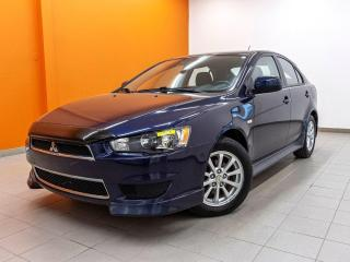 Used 2013 Mitsubishi Lancer AUTOMATIQUE BLUETOOTH SIÈGES CHAUFF *BAS KM* for sale in St-Jérôme, QC