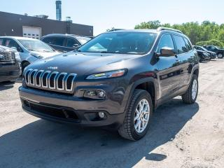 Used 2015 Jeep Cherokee NORTH 4X4 SIÈGES / VOLANT CHAUFFANT *NAVIGATION* for sale in St-Jérôme, QC