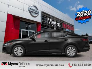 New 2020 Nissan Sentra SV CVT  - Heated Seats -  Android Auto - $148 B/W for sale in Orleans, ON