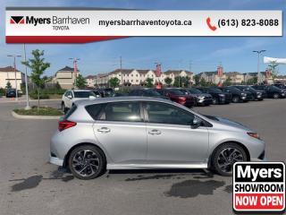 Used 2017 Toyota Corolla iM CVT  - Heated Seats -  Bluetooth - $122 B/W for sale in Ottawa, ON