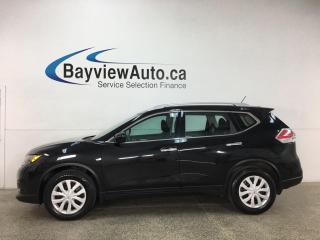 Used 2016 Nissan Rogue SV - LOW KMS! AUTO! PWR GROUP! NISSAN CANADA DIRECT! for sale in Belleville, ON