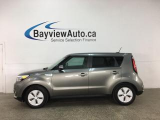 Used 2016 Kia Soul EV EV Luxury - HTD/COOLED LEATHER! NAV! PANOROOF! ONLY 15,000KMS! for sale in Belleville, ON