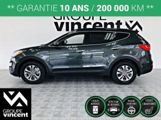 Used 2013 Hyundai Santa Fe Premium AWD ** GARANTIE 10 ANS ** Du style à l?expérience au volant, en passant par le groupe motopropulseur, un VUS compétant! for sale in Shawinigan, QC