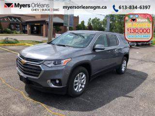 New 2020 Chevrolet Traverse LT Cloth  - Heated Seats for sale in Orleans, ON