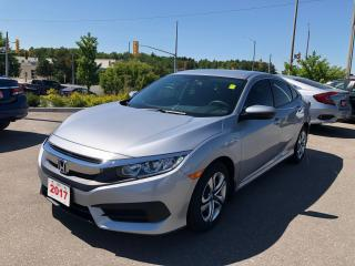 Used 2017 Honda Civic LX ECON MODE | REARVIEW CAMERA WITH DYNAMIC GUIDELINES | APPLE CARPLAY™ & ANDROID AUTO™ CONNECTIVITY for sale in Cambridge, ON