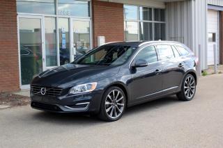 Used 2015 Volvo V60 T6 Premier Plus PREMIER+ AWD - CLIMATE / BLIS / SPORT PACKAGES for sale in Saskatoon, SK