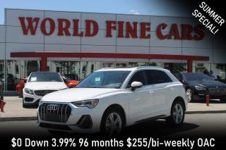 Used 2020 Audi Q3 45 Progressiv | Brand New! | S-line! for sale in Etobicoke, ON