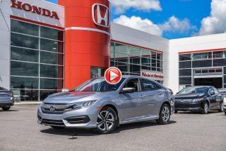 Used 2018 Honda Civic GARANTIE LALLIER MOTO-PROPULSEUR 10ANS/200,000 KIL S2752  ARGENT for sale in Terrebonne, QC