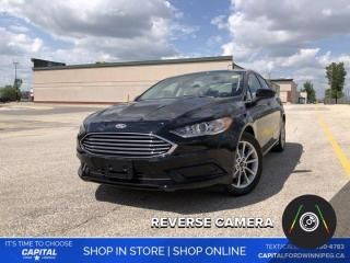Used 2017 Ford Fusion SE *Back-up Camera *Keyless Start for sale in Winnipeg, MB