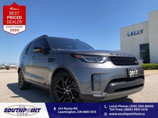 Used 2017 Land Rover Discovery 4WD 4dr HSE Leather HTD seats Navi Sunroof 7 Pass for sale in Leamington, ON