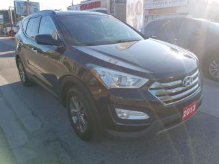 Used 2013 Hyundai Santa Fe SPORT-170K ONLY-ECO-BLUETOOTH-AUX-USB-ALLOYS for sale in Scarborough, ON