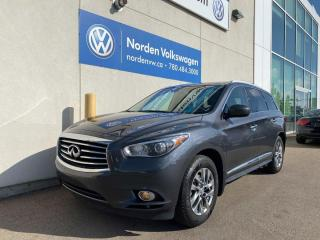 Used 2013 Infiniti JX35 AWD - LEATHER / HEATED SEATS for sale in Edmonton, AB