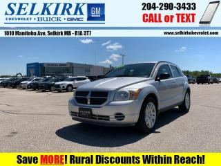 Used 2010 Dodge Caliber SXT  *NEW TIRES AND WINTERS* for sale in Selkirk, MB