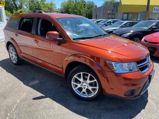 Used 2013 Dodge Journey CREW/ DVD/ 7 SEATER/ BLUETOOTH/ PWR GROUP/ ALLOYS! for sale in Scarborough, ON