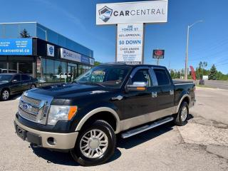 Used 2010 Ford F-150 KING RANCH   508A   4x4   REVERSE CAMERA   MOONROO for sale in Barrie, ON