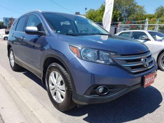 Used 2013 Honda CR-V Touring-123K-LEATHER-NAVI-S ROOF-BK CAM-ECON-ALLOY for sale in Scarborough, ON