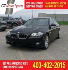 Used 2013 BMW 5 Series 528i xDrive for sale in Calgary, AB