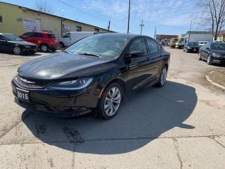 Used 2015 Chrysler 200 S for sale in Ajax, ON