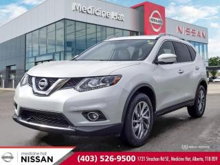 Used 2015 Nissan Rogue SL for sale in Medicine Hat, AB