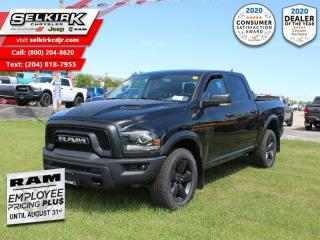 New 2020 RAM 1500 Classic Warlock - Heated Seats - $249 B/W for sale in Selkirk, MB