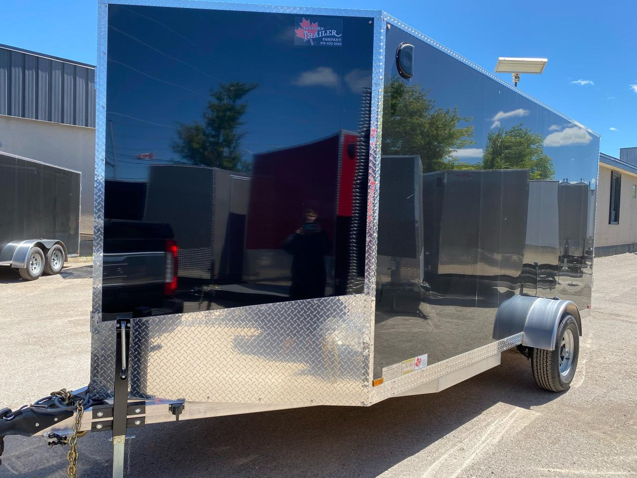 2020 Canadian Trailer Company 7x14 V-Nose Cargo Trailers
