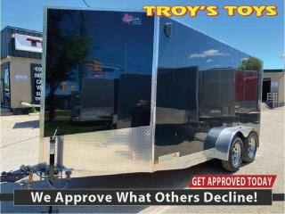 Used 2020 Canadian Trailer Company 7x14 V Nose Cargo Trailer for sale in Guelph, ON