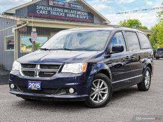 Used 2015 Dodge Grand Caravan SXT Premium Plus,ONE OWNER,FULL STOW-N-GO for sale in Orillia, ON