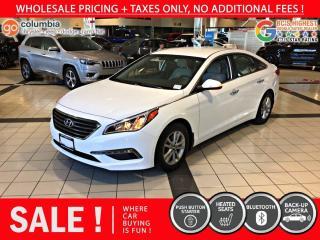 Used 2015 Hyundai Sonata 2.4L GLS - Local / No Dealer Fees for sale in Richmond, BC