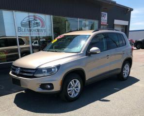 Used 2015 Volkswagen Tiguan COMFORTLINE $102.99 Bi-Weekly! OAC* for sale in Truro, NS