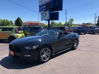Used 2017 Ford Mustang EcoBoost Premium for sale in Brantford, ON