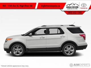 Used 2014 Ford Explorer Limited  - Leather Seats -  Bluetooth for sale in High River, AB