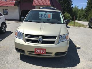Used 2010 Dodge Grand Caravan SE for sale in Oro Medonte, ON