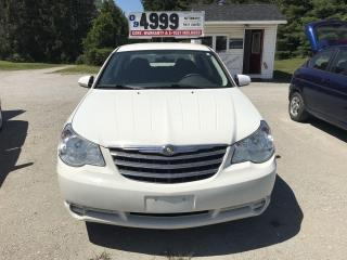Used 2009 Chrysler Sebring LX for sale in Oro Medonte, ON