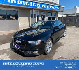 Used 2013 Audi A5 2.0T Quattro Premium Plus S-LINE/AWD/NO Accidents! for sale in Niagara Falls, ON