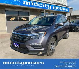 Used 2016 Honda Pilot EX | AWD | SUNROOF | BLINDSPOT CAM | CLEAN CARFAX for sale in Niagara Falls, ON