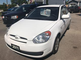 Used 2011 Hyundai Accent L for sale in Etobicoke, ON