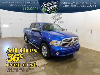 Used 2017 RAM 1500 Big Horn 4x4   HEMI   Sunroof for sale in Indian Head, SK