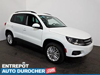 Used 2016 Volkswagen Tiguan AWD AIR CLIMATISÉ - Caméra de Recul for sale in Laval, QC