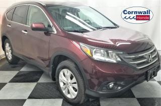 Used 2014 Honda CR-V Sunroof, Navi, Low KM for sale in Cornwall, ON