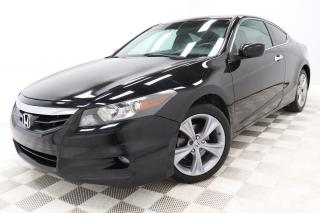 Used 2012 Honda Accord Coupe EX-L Coupe V6 *Cuir/Leather *Toit-Ouvrant/Sunroof for sale in Saint-Hubert, QC